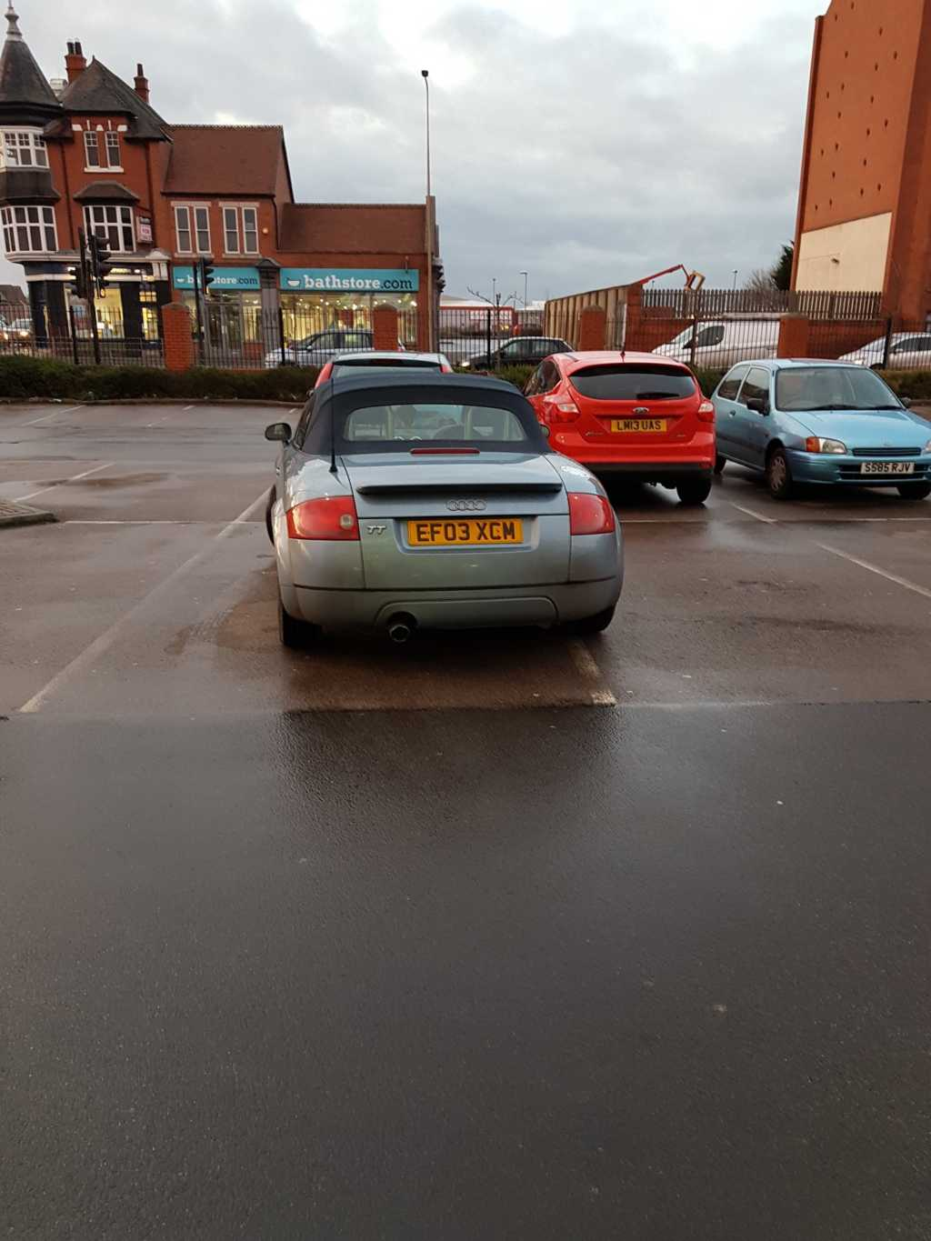 EF03 XCM is an Inconsiderate Parker
