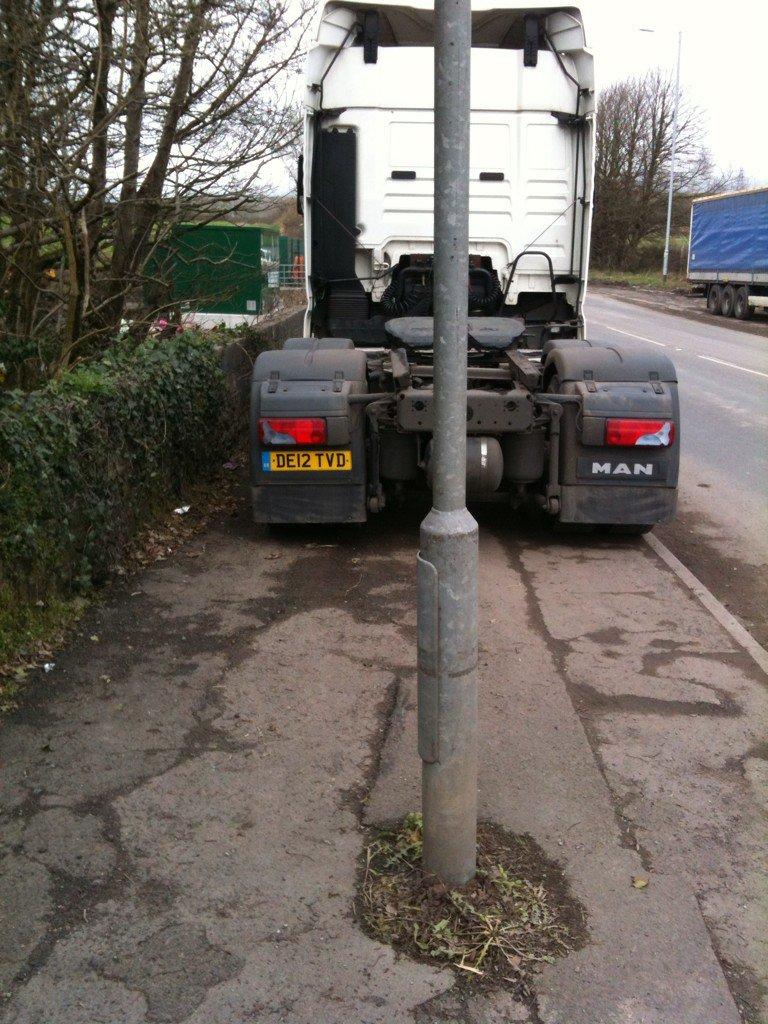 DE12 TVD displaying Selfish Parking