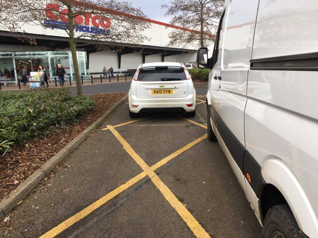 A10 SYI displaying Inconsiderate Parking