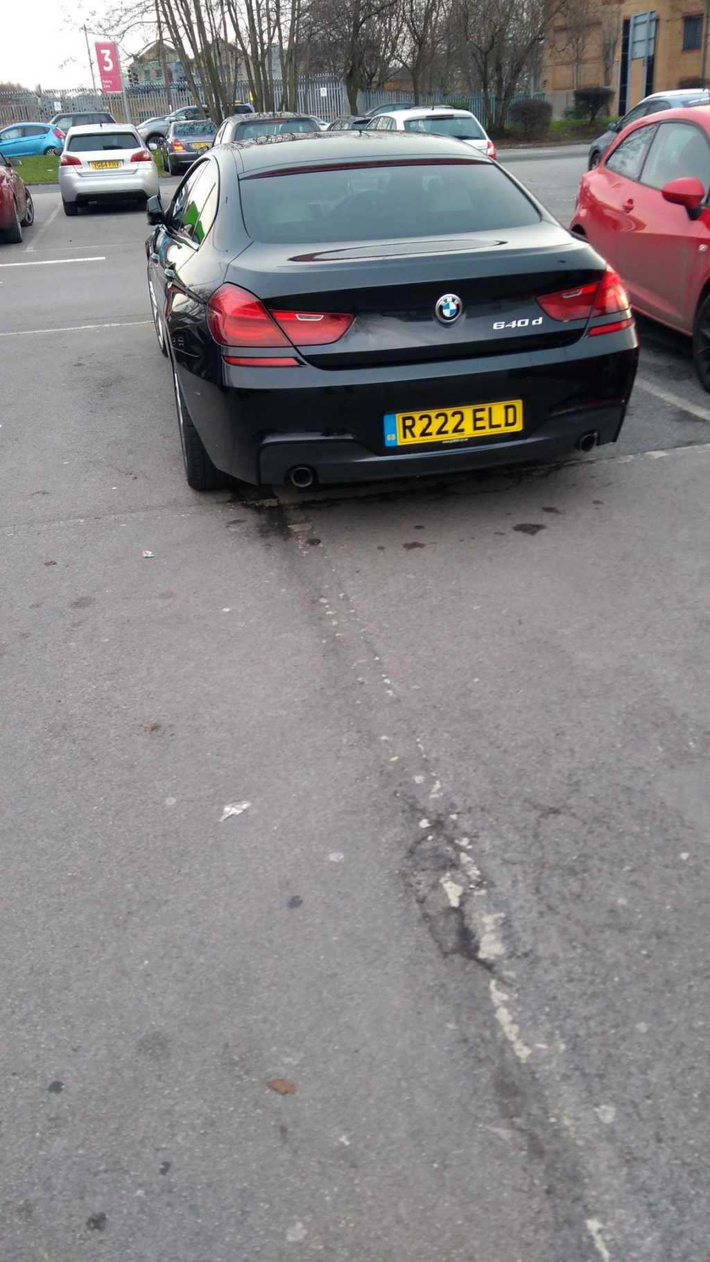 R222 ELD is a crap parker