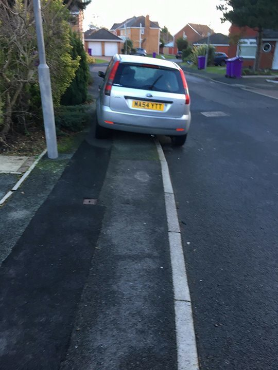 MA54 YTT is an Inconsiderate Parker