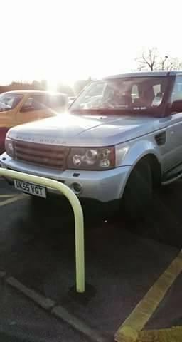 DK55 VGT displaying Selfish Parking