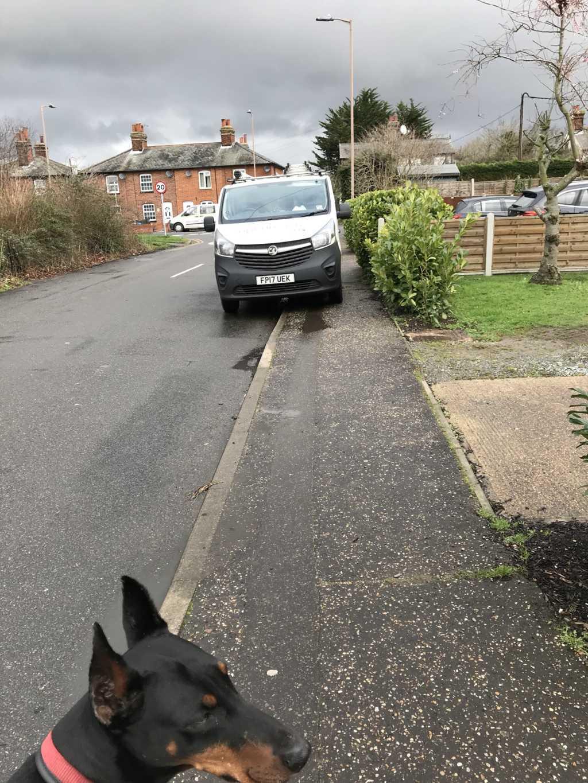 FP17 UEK displaying Selfish Parking
