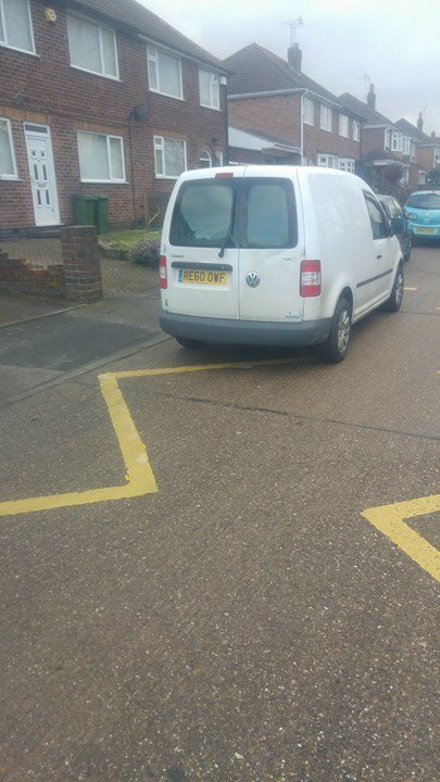 RE60 OWF is an Inconsiderate Parker