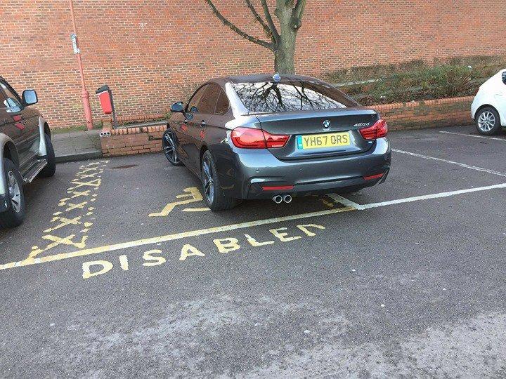 YH67 ORS displaying crap parking
