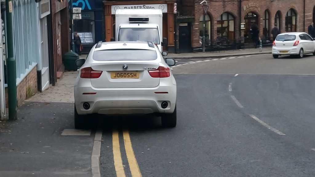 JO60SSH displaying Selfish Parking