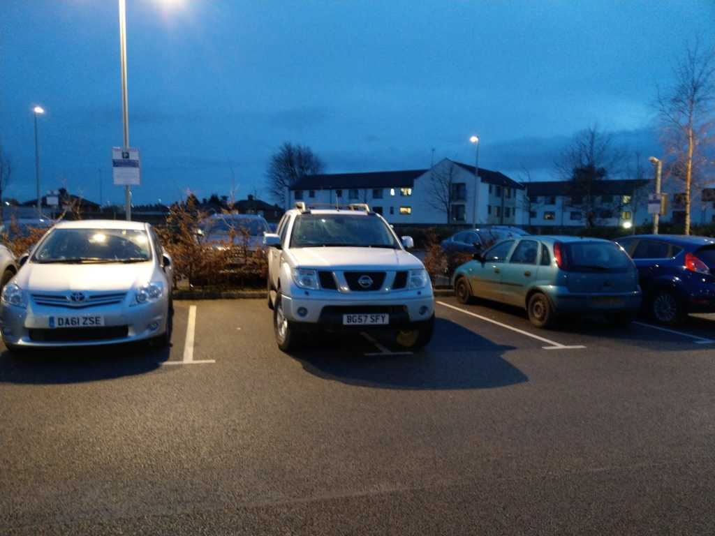 BG57SFY is an Inconsiderate Parker