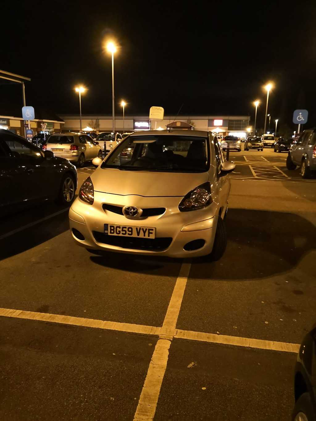 BG59 VYF is a Selfish Parker