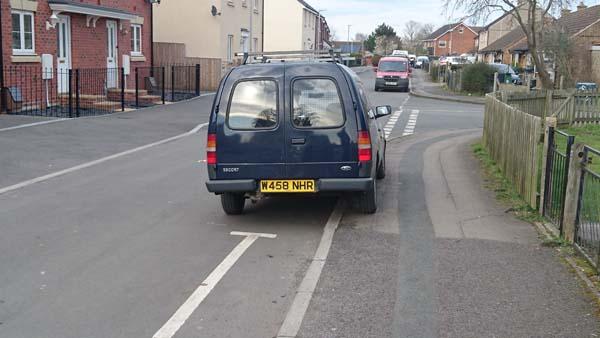 W458 NHR displaying crap parking