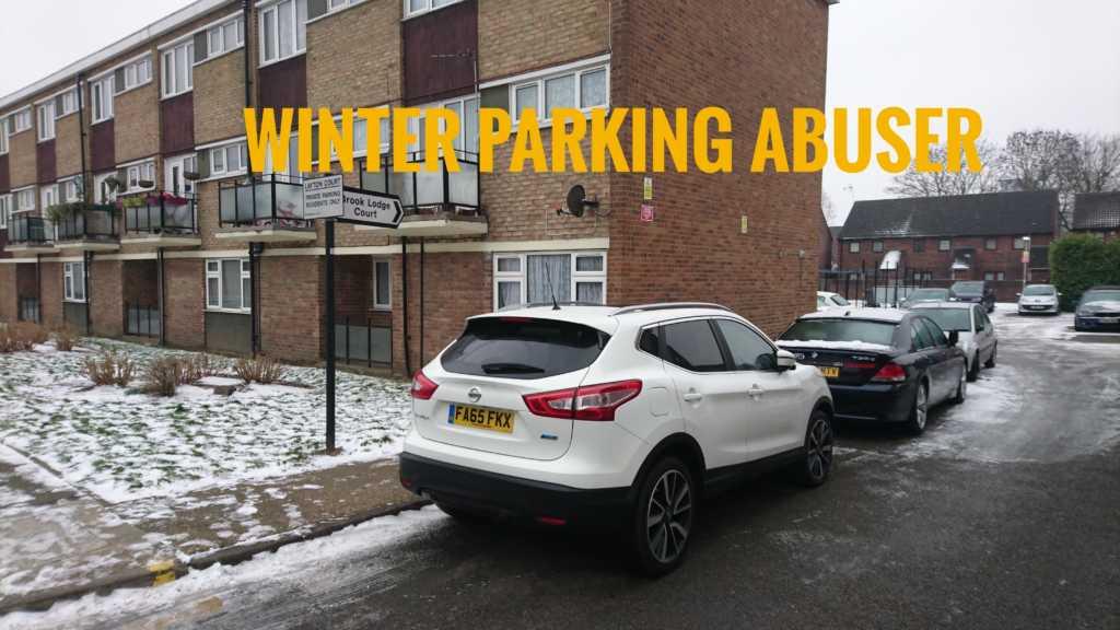 FA65FKX displaying crap parking