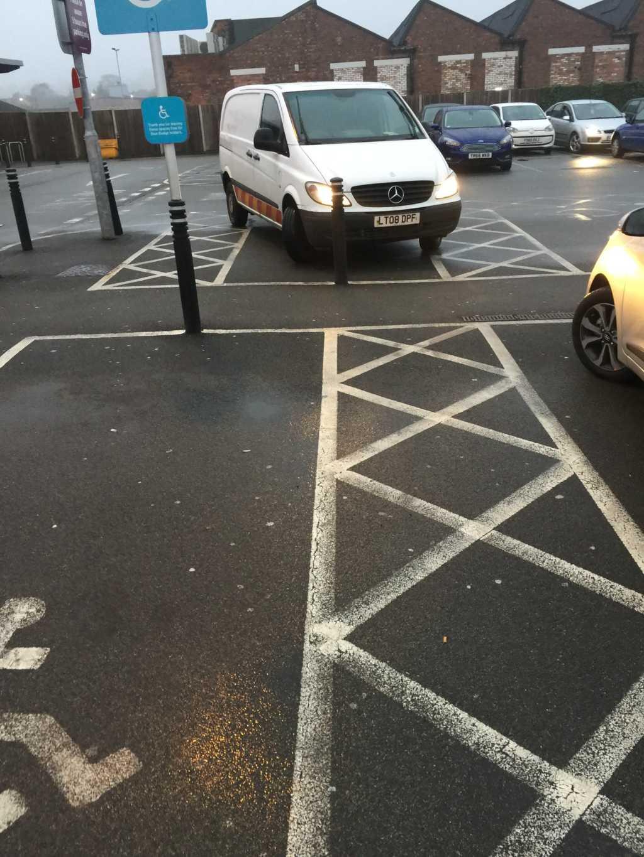 LT08 DPF displaying crap parking