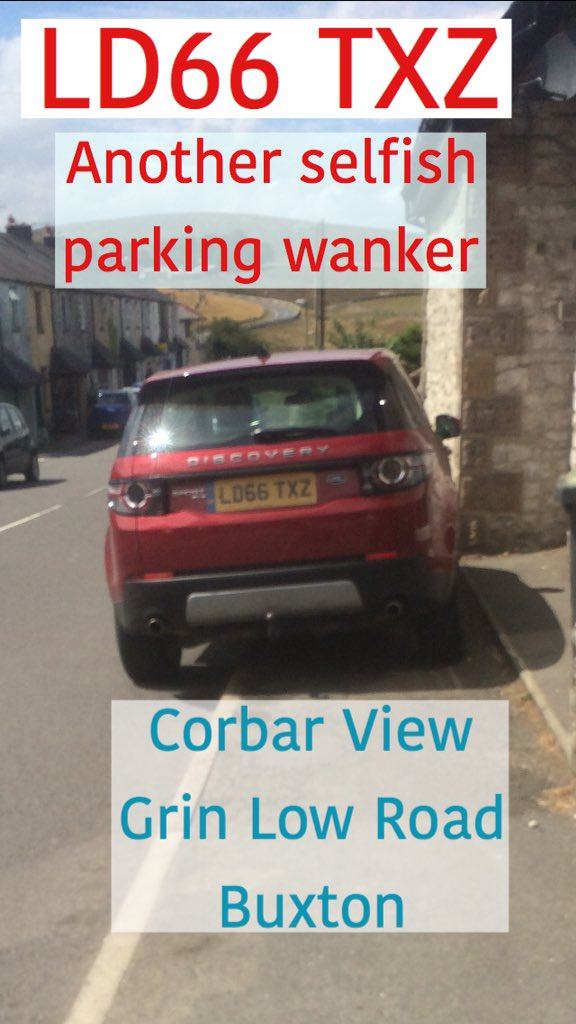 REG NOT ADDED displaying Selfish Parking