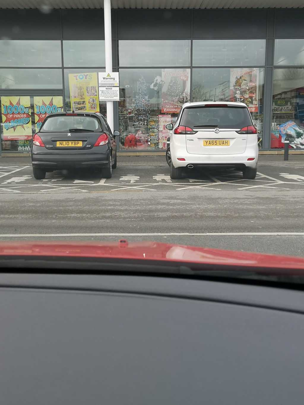 NL10 YBP & YA65 UAH is a crap parker