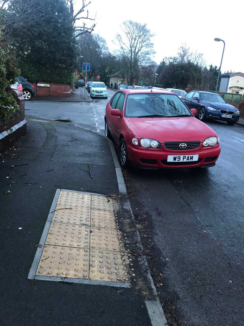 W9 PAM is an Inconsiderate Parker