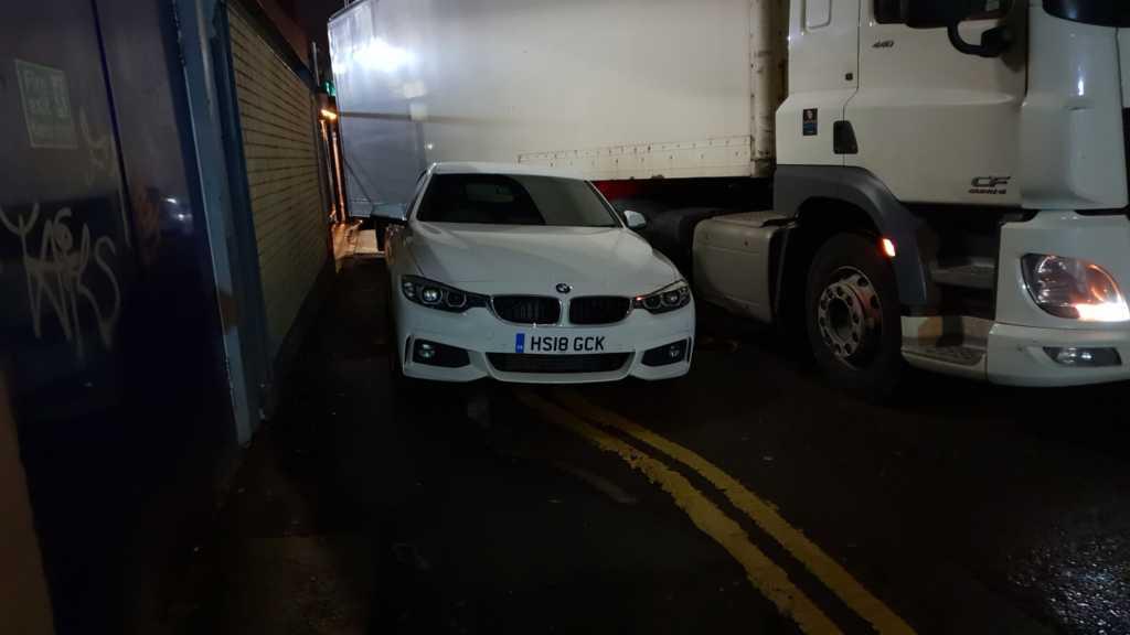 HS18 GCK is a crap parker