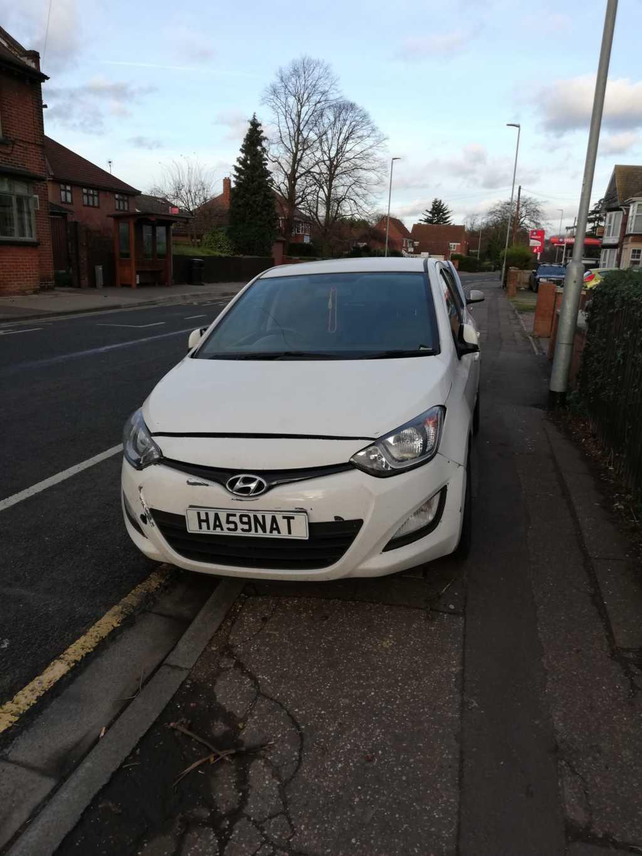 HA59 NAT displaying crap parking