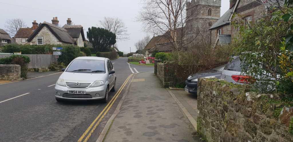 HW54 HCU displaying crap parking