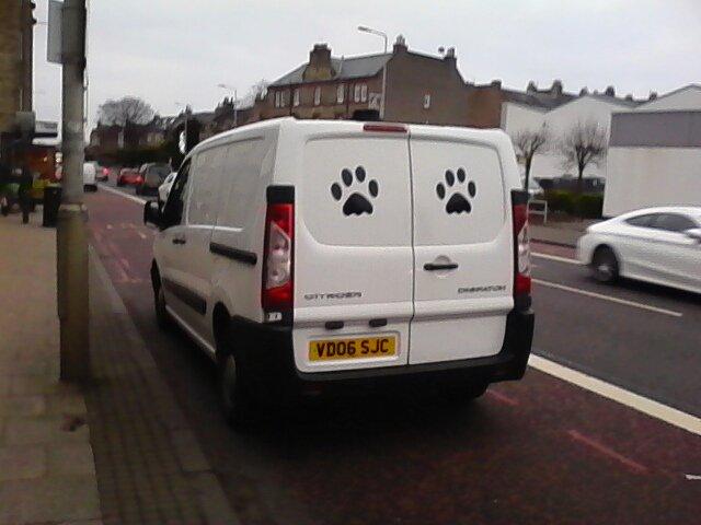 VD06 SJC displaying Inconsiderate Parking