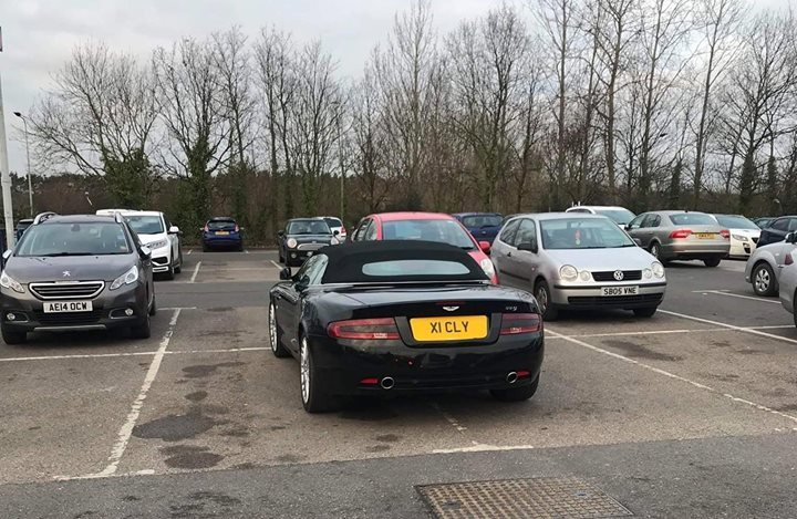 X1 CLY is an Inconsiderate Parker