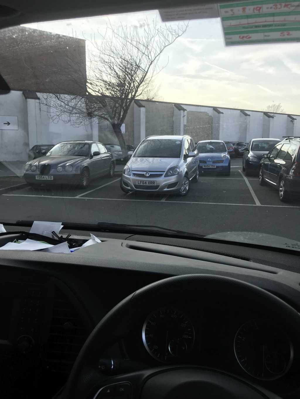LF64 XRR displaying Inconsiderate Parking