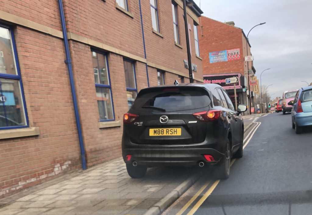 M88 RSH displaying crap parking