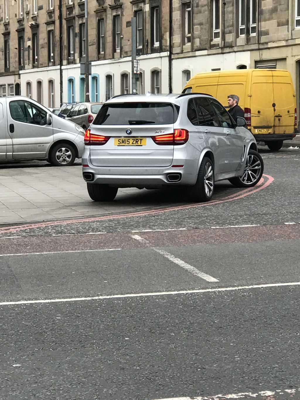 SM15 ZRT displaying Selfish Parking