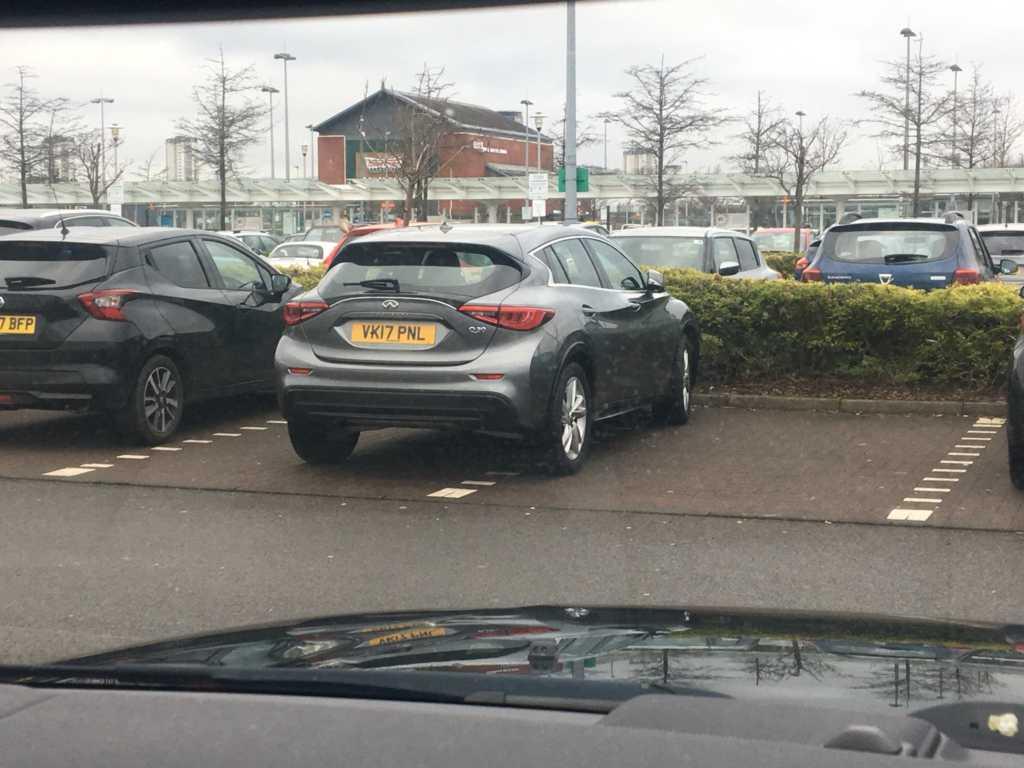 VK17 PNL displaying Selfish Parking