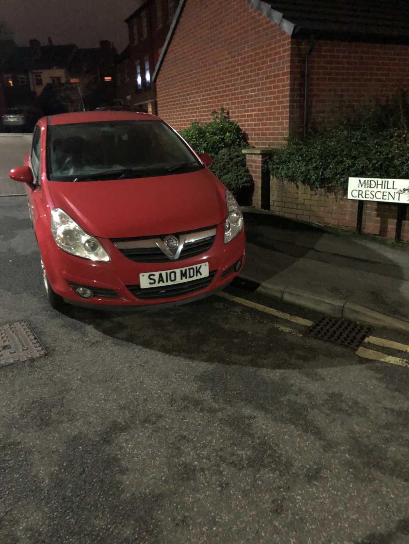 SA10 MDK displaying crap parking