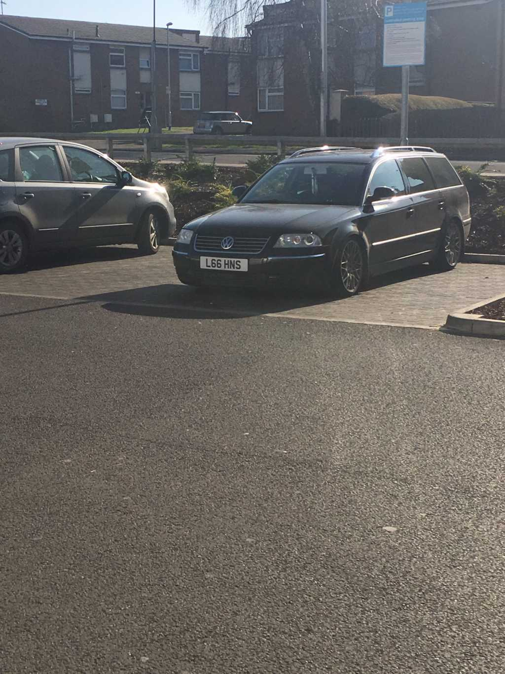 L66 HNS displaying Inconsiderate Parking