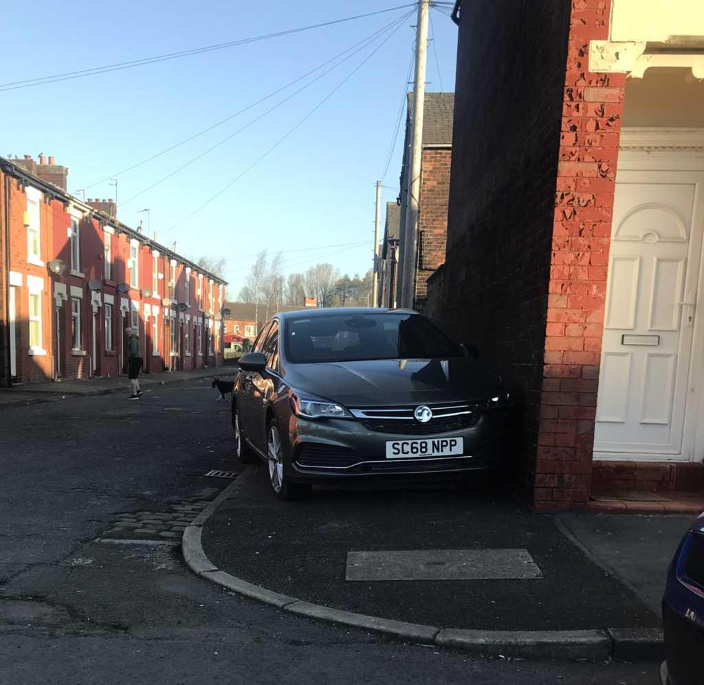 SC68 NPP displaying Selfish Parking