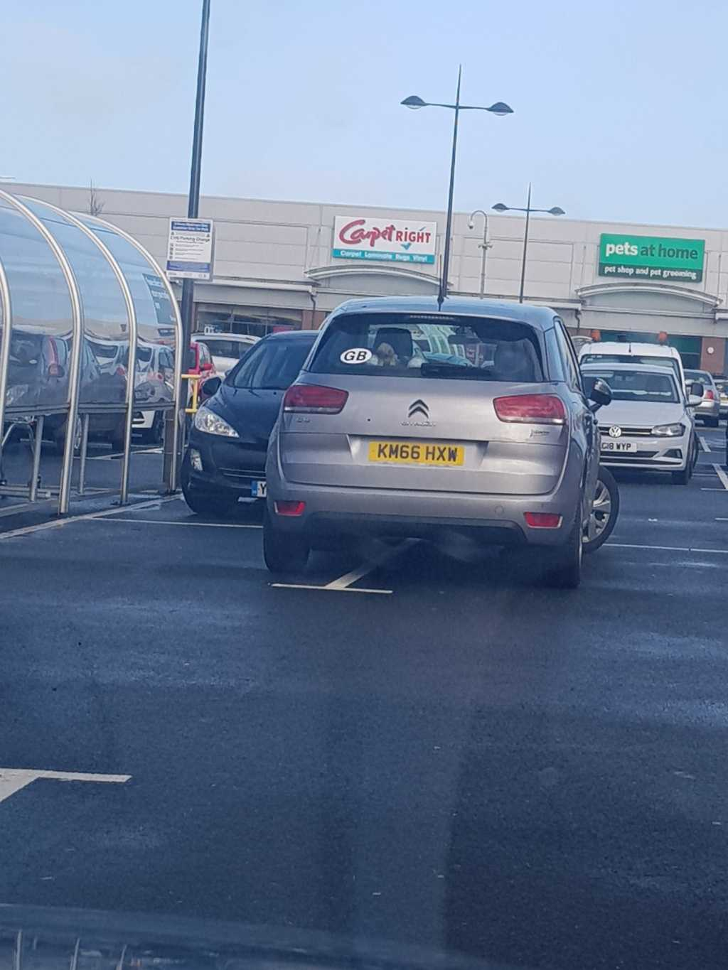 KM66 HXW is an Inconsiderate Parker