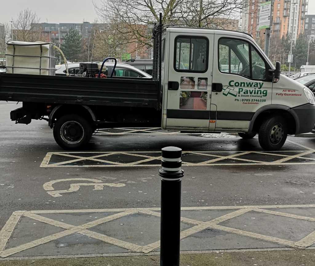 S4DIS displaying Inconsiderate Parking