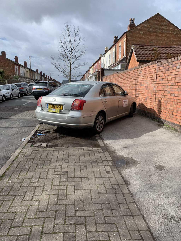 FE08 NSF displaying Selfish Parking