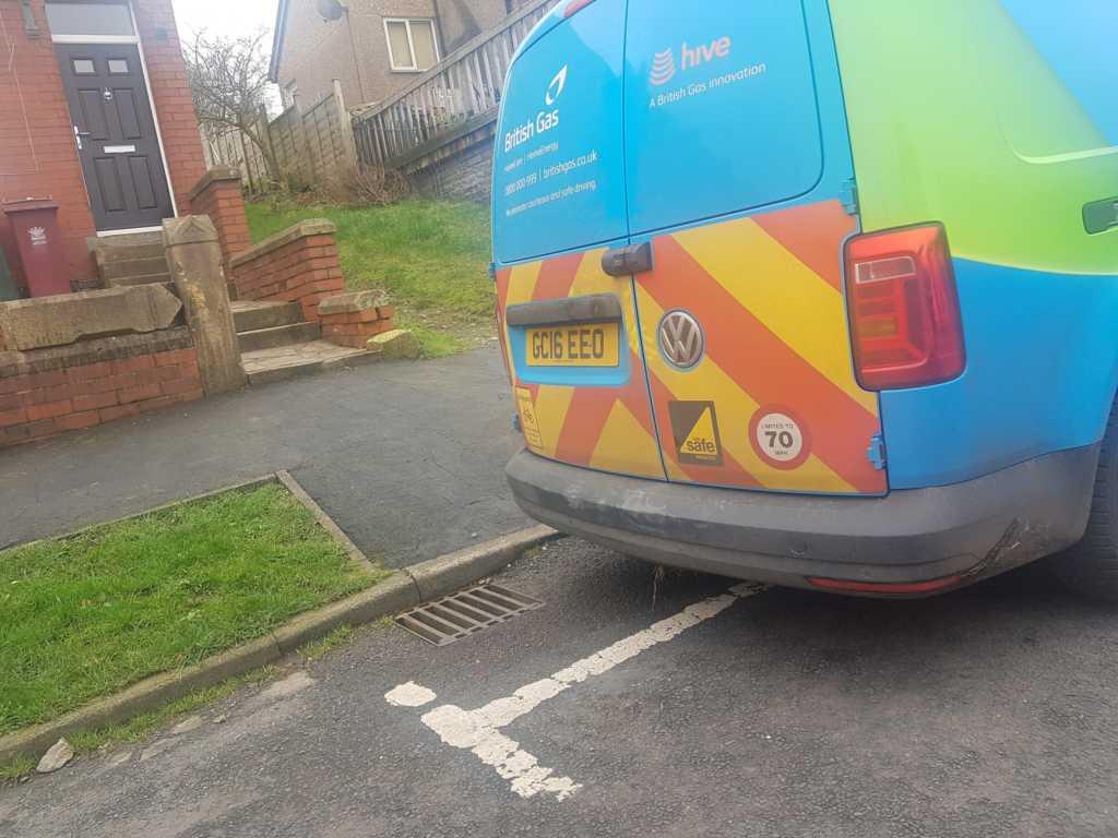 GC16 EEO displaying Selfish Parking