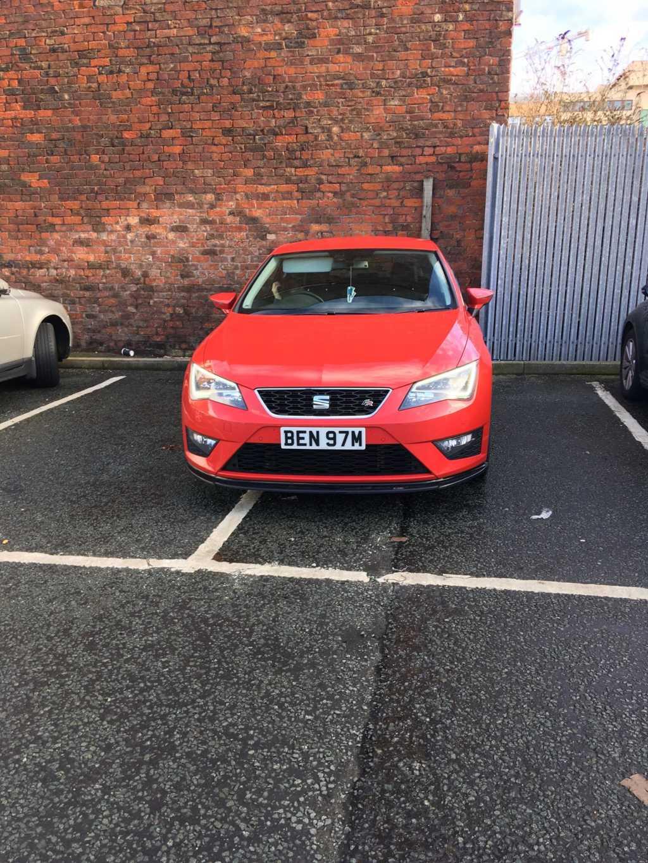 BEN 97M displaying Selfish Parking