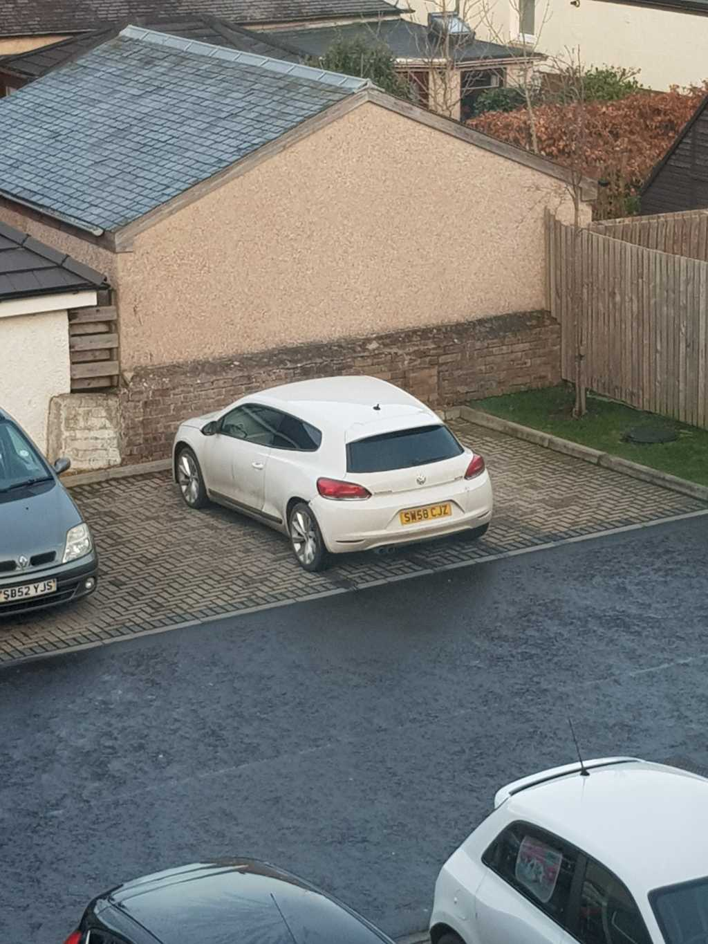 SW58 CJZ displaying Selfish Parking
