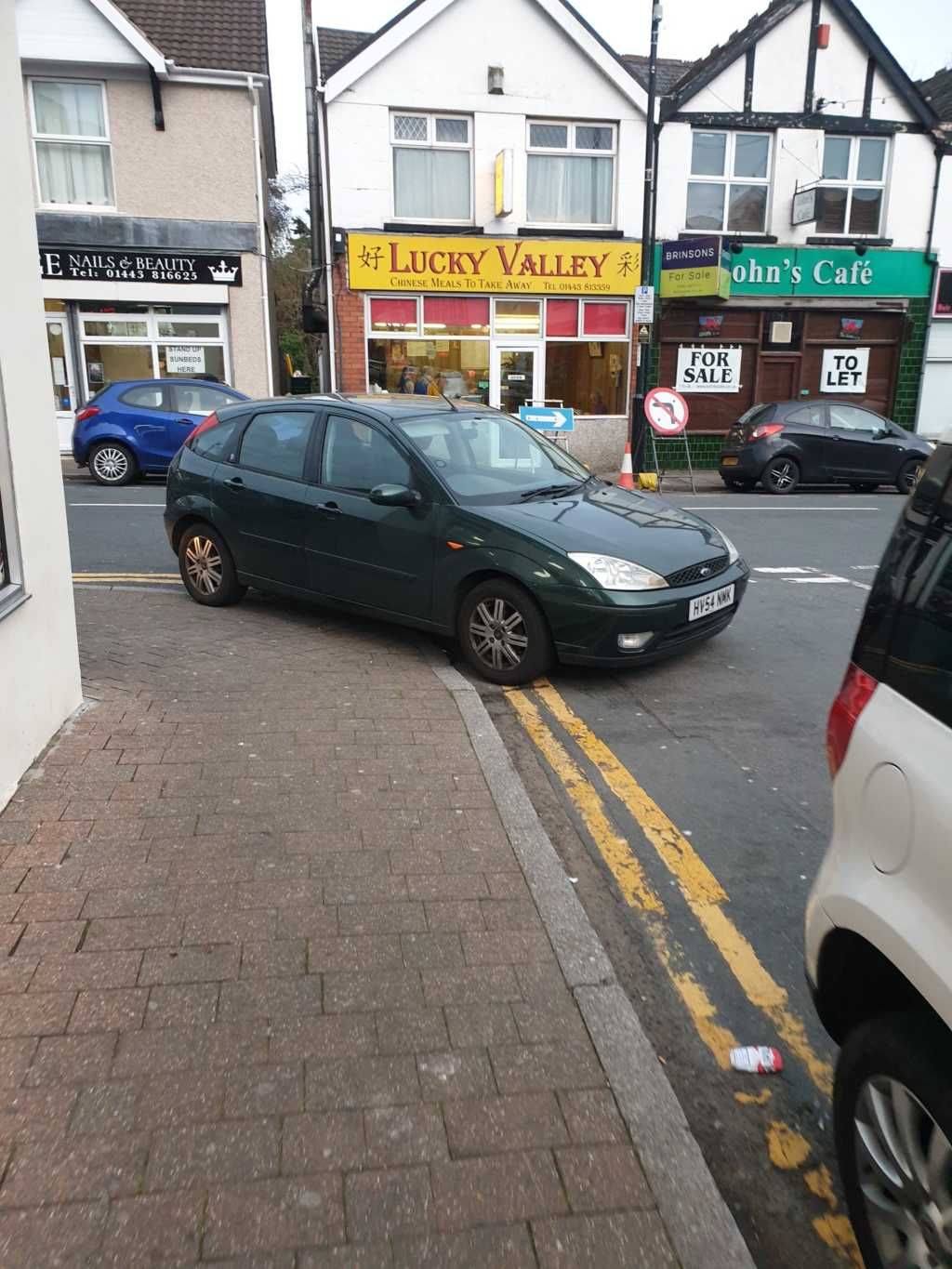 HV54 NMK is an Inconsiderate Parker
