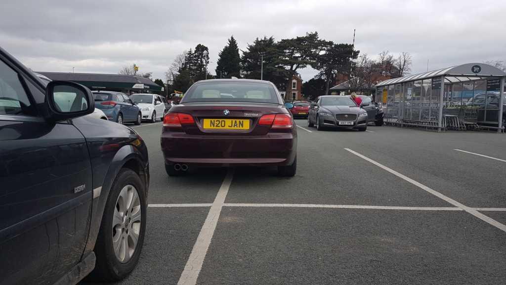 N20 JAN displaying Selfish Parking