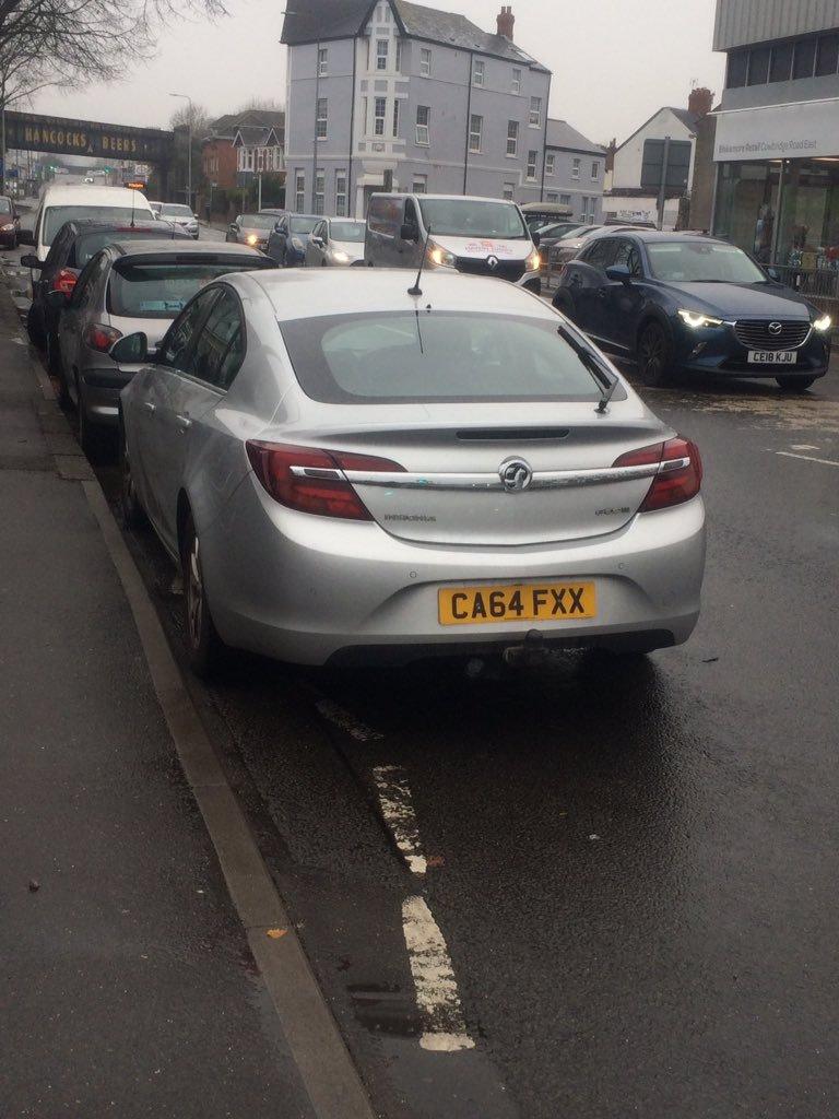 CA64 FXX displaying crap parking