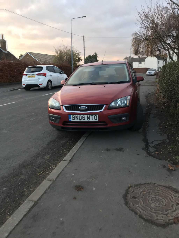 BN06 MTO displaying crap parking