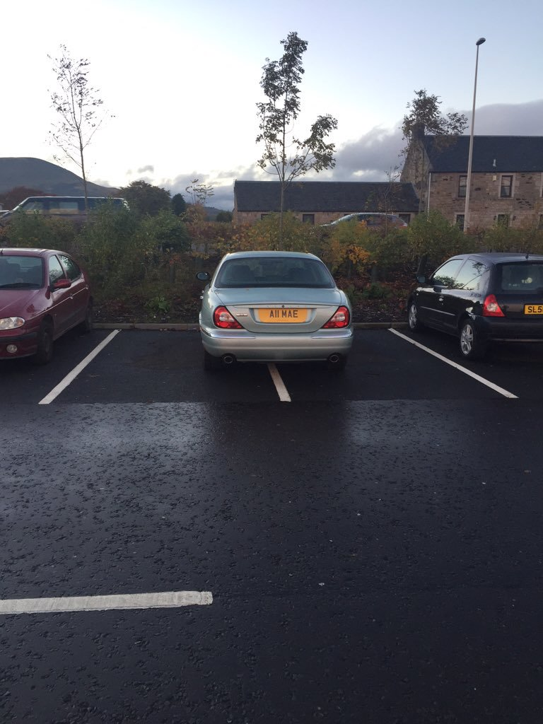 A11 MAE is an Inconsiderate Parker