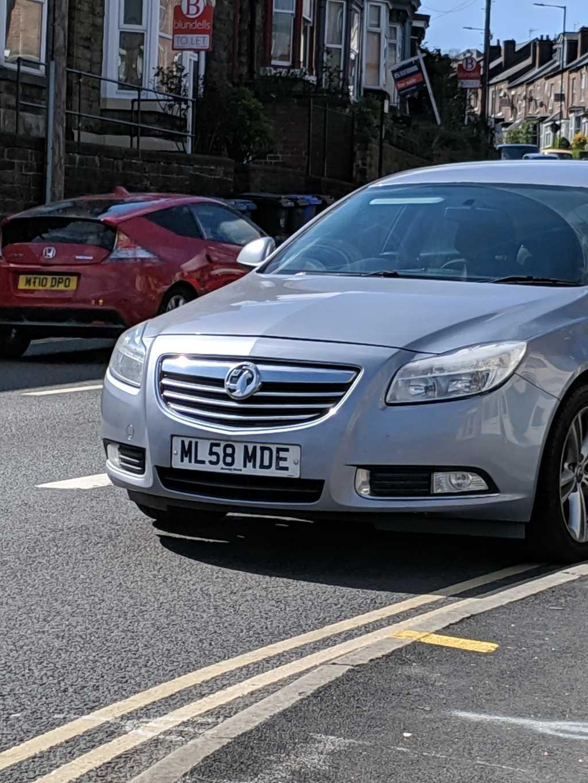 ML58 MDE displaying crap parking