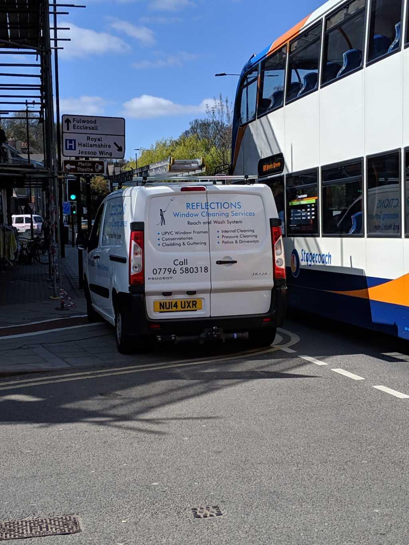 NU14 UXR displaying Selfish Parking