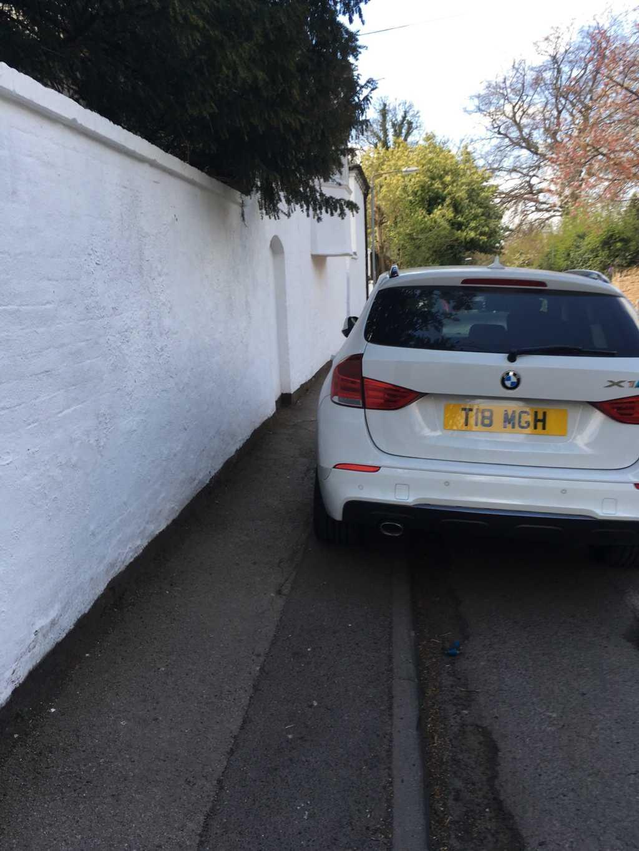 T18 MGH displaying Selfish Parking