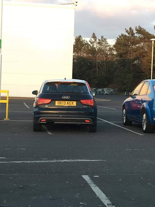 OE13 AGX is an Inconsiderate Parker