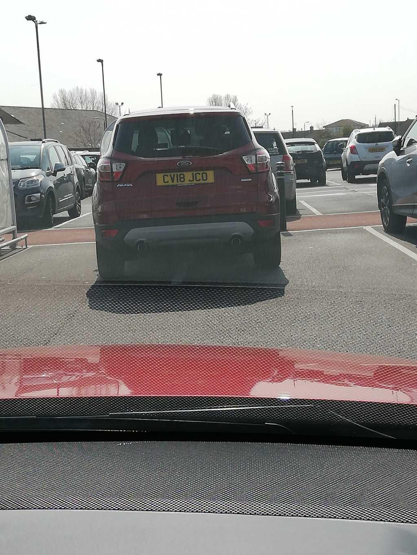 CV18 JCO displaying crap parking