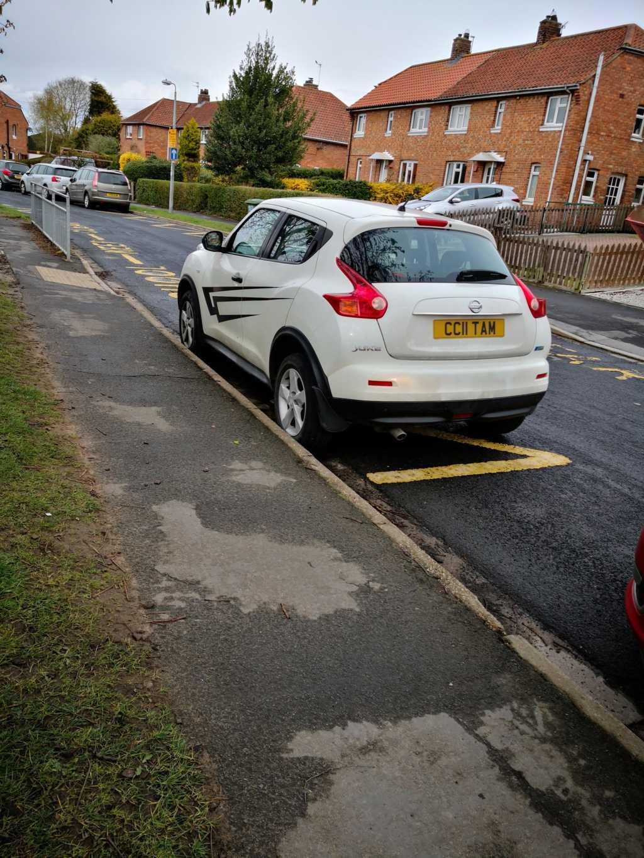 CC11 TAM displaying crap parking