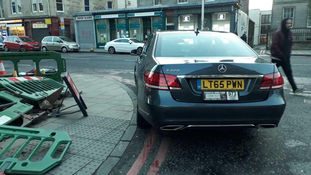 LT65 PWN displaying crap parking