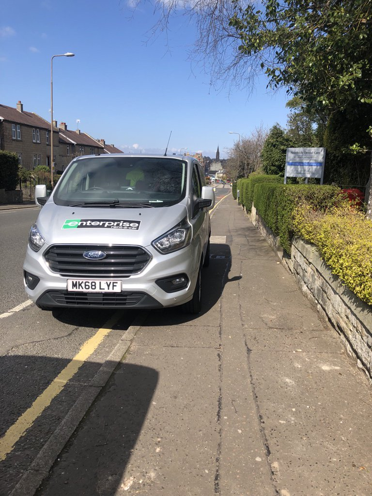 MK68 LYF displaying Selfish Parking