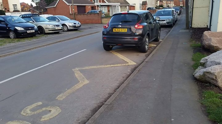 NL62 OTD is an Inconsiderate Parker
